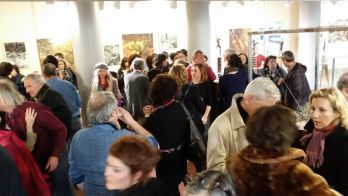Vernissage 1er exposition artistes auteurs